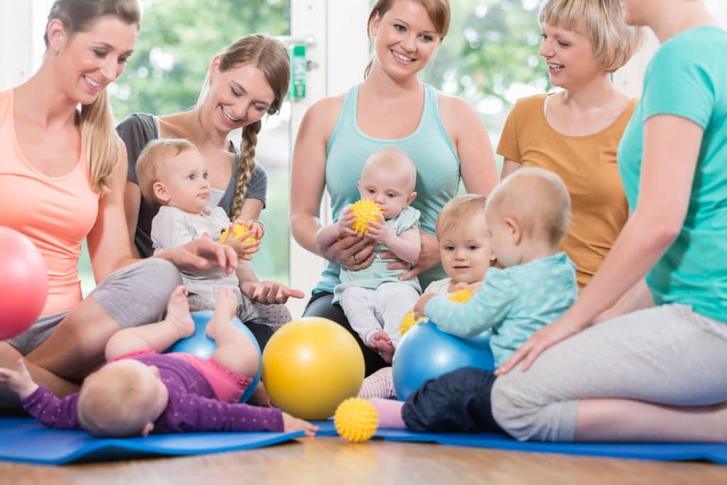 Mama Fitnesskurs Rückbildung
